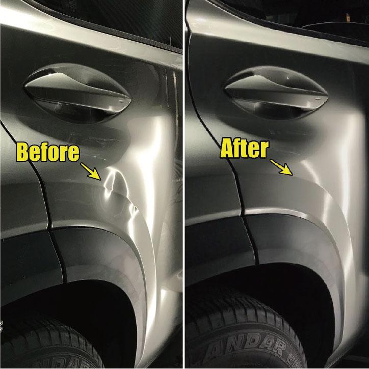 後門稜線凹痕修復